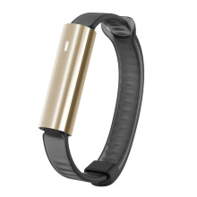 MISFIT Ray Polished Gold Ss Wearables White Sport Band Unisex [MIS1006]