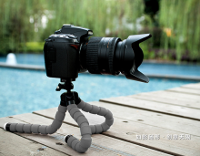 Mini Octopus Tripod Bracket Holder Stand Flexible Mount for Phone Camera KT600