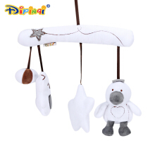 AIPINQI Baby Crib Hanging Plush Toy Bed Bell Stroller Pendant