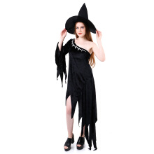 HOUSE OF COSTUMES Witch W-0047 - Black Hitam One Size
