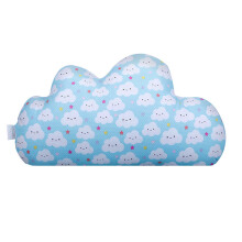 JOYLIVING Cushion Cloud Blue 30 cm x 50 cm