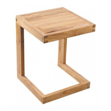 PRISSILIA Celebi Pine Side Table 55x40x120cm
