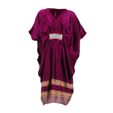 LITTLE SUPERSTAR Fatimah Caftan Dress Purple D084G