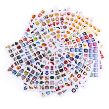 Novelty Emoji Sticker Paster for Home Decor Phone Decoration