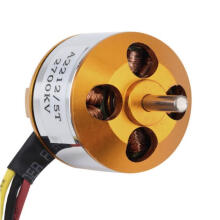 BESSKY A2212 KV2700 Brushless Electric Motor for RC Fixed Wing 4-Axis Multicopter - Orange