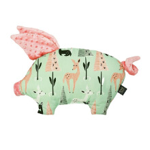 LA MILLOU Sleepy Pig Pillow - Bambi Deer Coral SP076PK