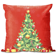 Christmas Tree Pattern Pillowcase Sofa Cushion Cover