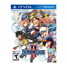 SONY PS Vita Game Demon Gaze II - Reg 1