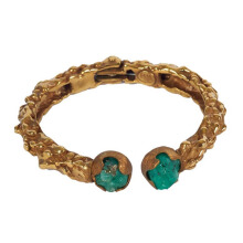 PAULA MENDOZA Aurore Bangle Turquoise - Gold