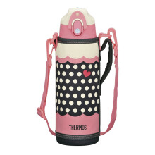 THERMOS Vacuum Insulation 2way Bottle - Dot Pink 800 ml (FFR-804WF D-P)