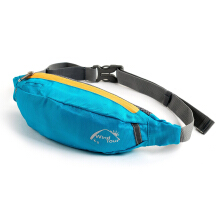Waterproof Polyester Travel Bag Waist Pouch Fanny Purse Belt Hiking Zip Sport