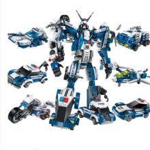 ENLIGHTEN D14 Toy Transformers Compatible with LEGO blocks for 6 years old kid 577pcs blocks