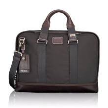 TUMI Alpha Bravo Andrews Slim Brief Hickory [222390HK2]