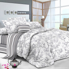 PANTONE Quintana-A Sprei - Queen Fitted / 160 x 200 x 40