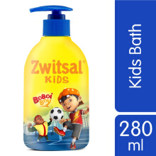 ZWITSAL Kids Bath Act Pump 280ml