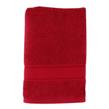 LENUTA Travel Towel Fresia Silver - Red ( 50x100cm )