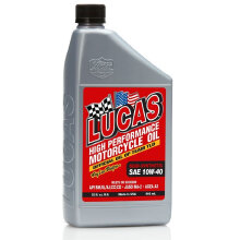 LUCAS HP MOTORCYCLE OIL SAE 10W-40 946mL