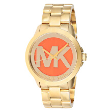 Michael Kors Orange Dial Stainless Steel [MK6215]
