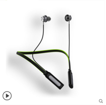 Ins AI P90 Wireless Bass Sports Running Fitness Bluetooth headset For Apple Android phones and IPAD -Black&Green