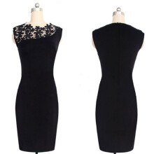 BESSKY Sexy Lady Lace Stretch Clubwear Cocktail Evening Party Bodycon Dress_