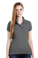 POLO RALPH LAUREN - Classic-Fit Polo Shirt Lacoste Grey Ink Ladies