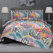CELINA Sprei Set & Quilt Cover Single - Hera Abu - 120 x200x40cm