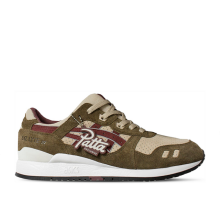 Patta x Asics GLIII Birch Burgundy US 9.5