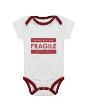 HEY! BABY Handle With Care Romper