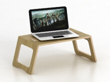 JYSK Laptop Support Eli 29X60 Cm - Euro Oak