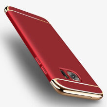 JEREFISH Samsung Galaxy S6 Edge Plus Case Matte Metal 3 in 1 Electroplate Frame Cover for Galaxy S6 Edge Plus Case