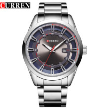CURREN Fashion Men Watch Top Luxury Brand Sport Military Business Date Male Clock Steel Band Wrist Quartz Mens Watches