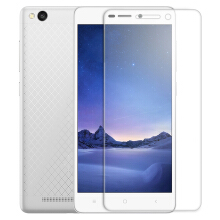 Luanke Tempered Glass Screen Protective Film for Xiaomi Redmi 3 / 3 Pro / 3S 0.26mm 2.5D 9H Explosion-proof Membrane Transparent