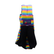 Baba Slings Stripe Gendongan Bayi - Black Rainbow