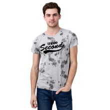 3SECOND Full Print Tee 3208 - Grey