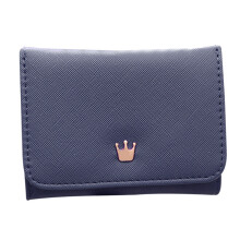 BESSKY Women's Wallet Card Holder Wallets Crown Small Wallet Coin Purse_