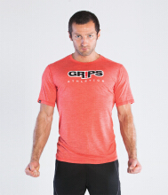 GRIPS Men BASELINE TEE SHIRT - RED