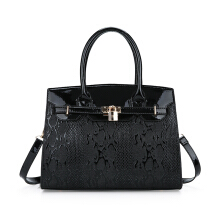Fashionmall Women's New Fashion Crocodile Grain Elegant Handbag Shoulderbag