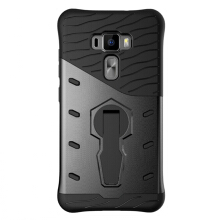Smatton Case hp ASUS Zenfone 3 Ze552KL Case Armor Shockproof Hybrid Hard Soft Silicone 360 Degree Rotation Phone Cover shell