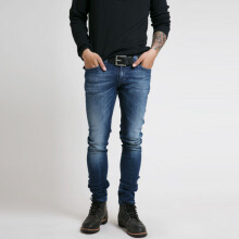 NUDIE JEANS Tight Long John Unisex - Org. Blue Dot [25]