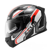 ZEUS HELMET ZS-813 AN5 - Helm Full Face - Black/Grey