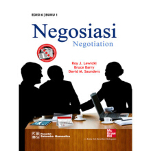 SALEMBA HUMANIKA Negosiasi (Negotiation) 1, E6 - Roy J. Lewicki | Bruce Barry | David M. Saunders 9786028555616