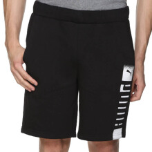 PUMA Rebel Sweat Shorts - Cotton Black