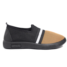 Dr. Kevin Soft & Comfortable Men Sneakers Slip On 13312 - Coffee/Black