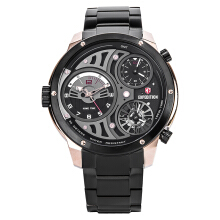 Expedition Man Set Black Dial Stainless Steel [EXF-6742-MTBBRBA]