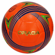 Bola Futsal Oraga Esparta No 4 Neon Orange Navy Green