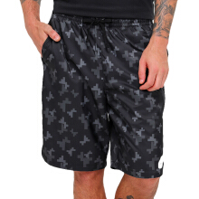 NIKE As M Nsw Short Wvn Aop Flw Kne - Dark Grey/Black/White