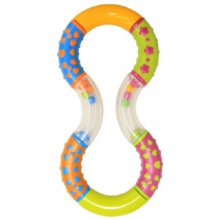 LUCKY BABY Handee Rattle Series - Twisty (Assorted Colors)