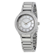 Michael Kors Mini Kerry Silver Dial Stainless Steel Bracelet Watch [MK3441]