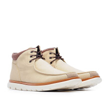LIFE 8 Lightweight Canvas Simple Casual Short Boots - Beige