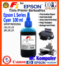 F1 Ink For Epson L Series Cyan 100 ml